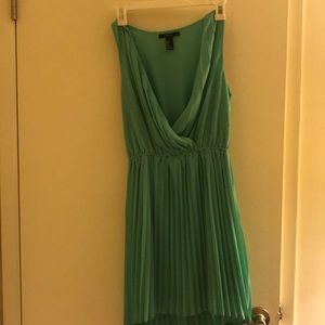 Green semi formal dress